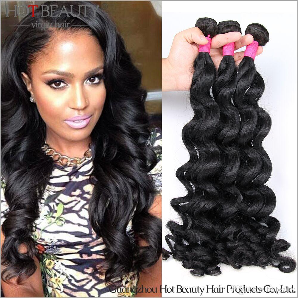 2016 Brazilian Virgin Hair Loose CurlyRemy Human Hair
