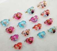 Kids Finger Ring Frozen Elsa Anna Rings MIX HEART FLOWER ...