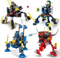 Jx80001 Ninjago Building Blocks Ninja Mech Battle Lloyd ...