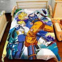 Best Wholesale Anime Manga Dragonball Z Bed Sheet 150