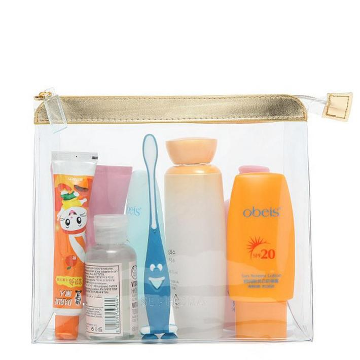 Image result for toiletries in plastic bag