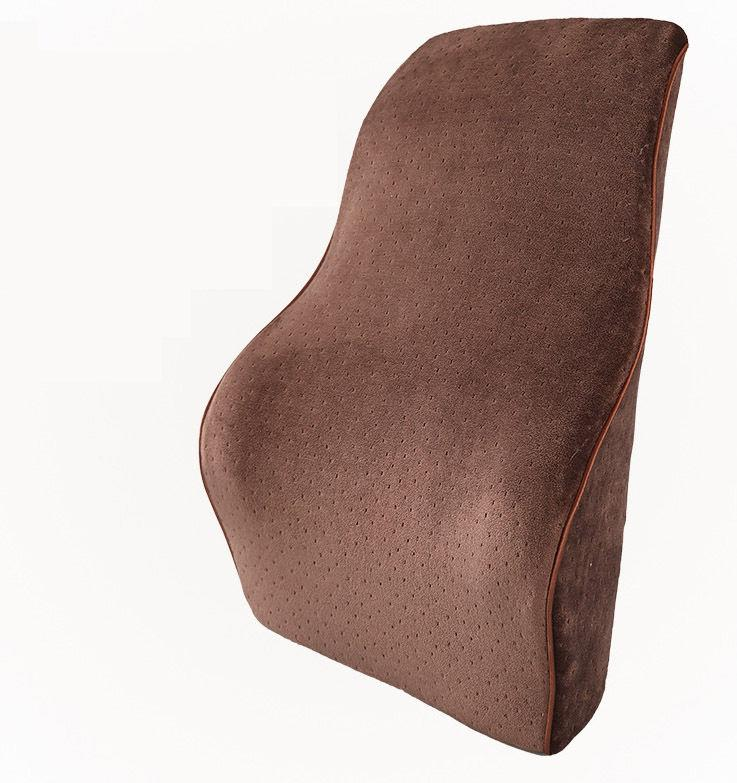 chair back support metal and wood chairs new memory foam lumbar cushion pillow car seat office therapeutic from tobos