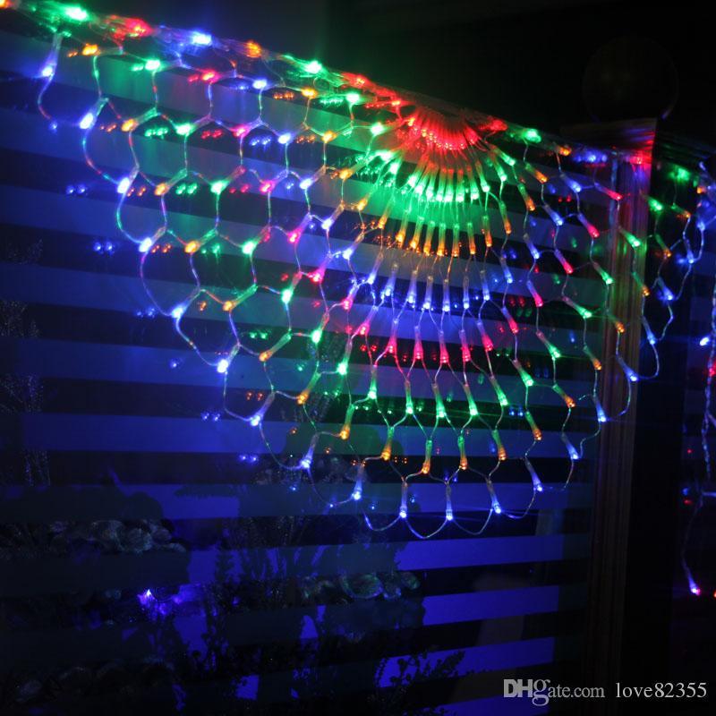 Creative Curtain Decoration Lights . Wedding Background
