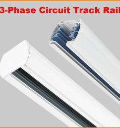 dhl 1m 3 phase circuit 4 wires tracks aluminium led track light rail lighting spot light track systems global track base 1 meter black white canada 2019  [ 900 x 900 Pixel ]