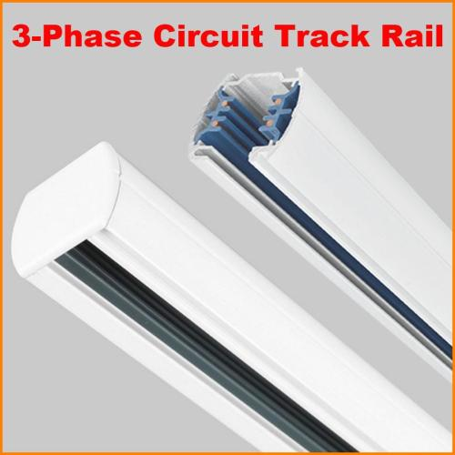 small resolution of dhl 1m 3 phase circuit 4 wires tracks aluminium led track light rail lighting spot light track systems global track base 1 meter black white canada 2019