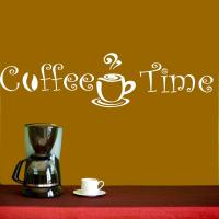 Wall Decal Vinyl Sticker Coffee Shop Cafe Kitchen Quote ...