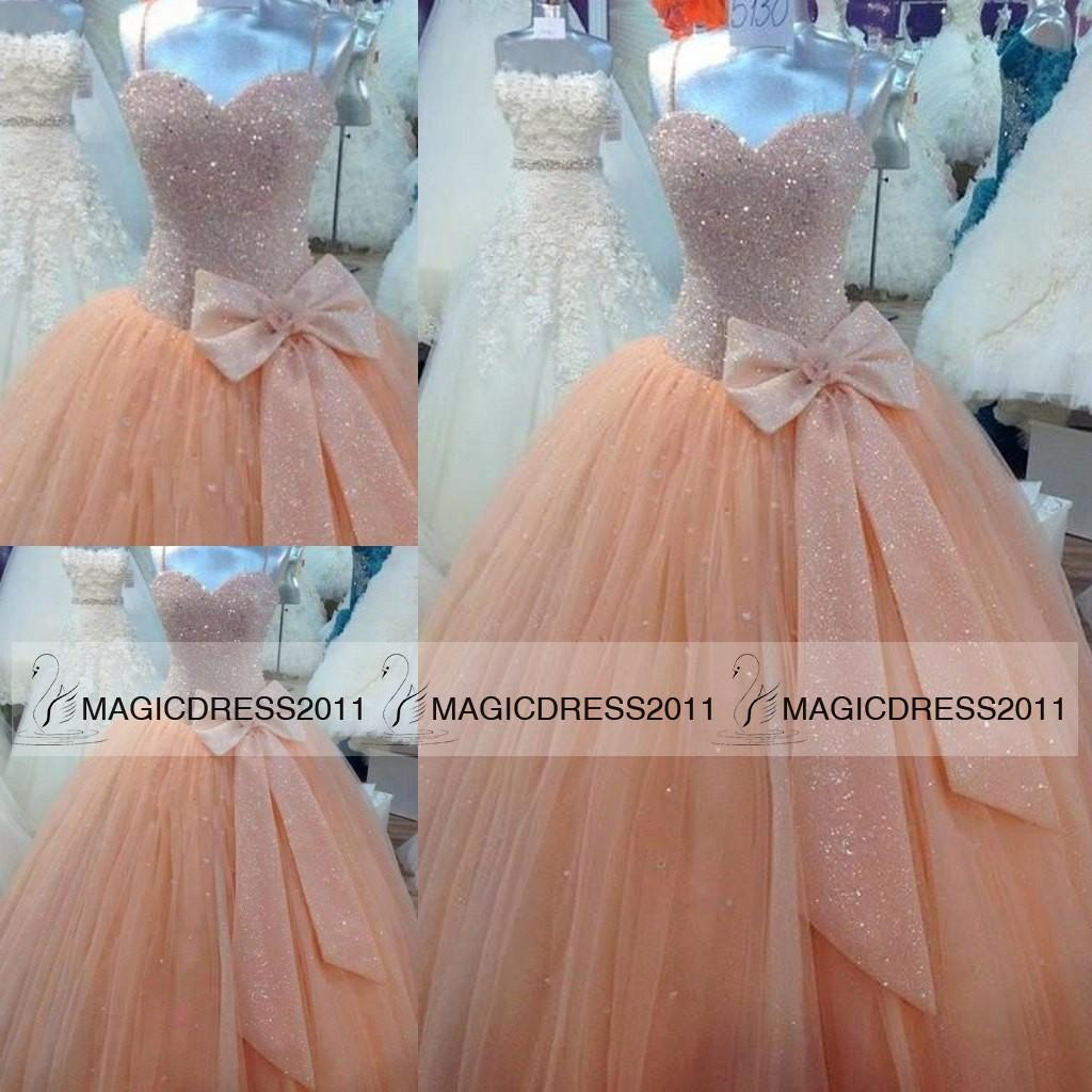 2015 Cinderella Quinceanera Dresses With Sweetheart Corset