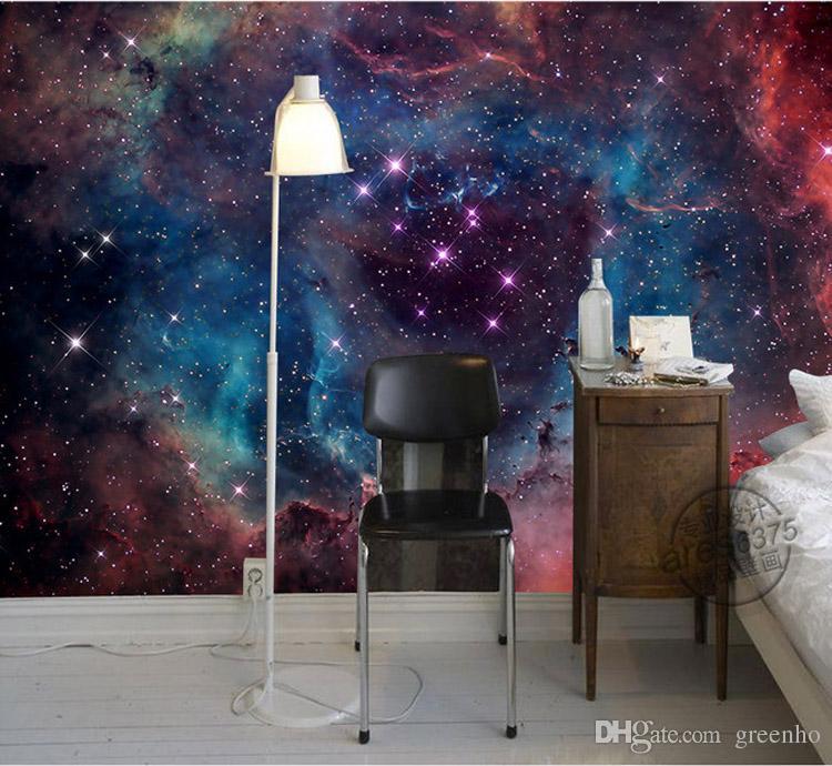 Gorgeous Galaxy Wallpaper Nebula Photo Wallpaper Custom 3d