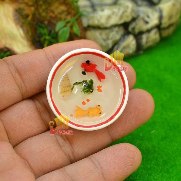 2017 dollhouse accessories goldfish