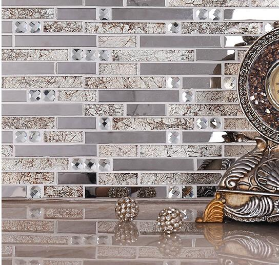 living room tiles wall framed pictures for ireland crystal glass mosaic tv background stickers building materials tile online with 25 63 square feet on qinyuanstone s