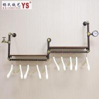 2018 Retro Iron Pipe Coat Rack Clothing Store Shelf