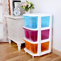 Children Three-drawer Storage Cabinets Baby Bedroom ...