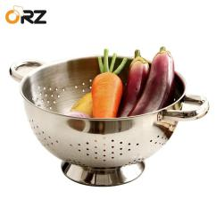 Kitchen Colander Refinished Cabinets Orz Draning Basket Fruit Vegetable Washing Colanders Stainless Steel Strainers Leakage Basin Pot Bowl Wash Canada 2019 From Ziyu168