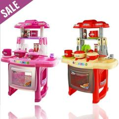 Child Kitchen Set Design Cheap Christmas Gifts 2 4 Years Best Kids Combination Classic Pretend Play Baby Toy Wholesale