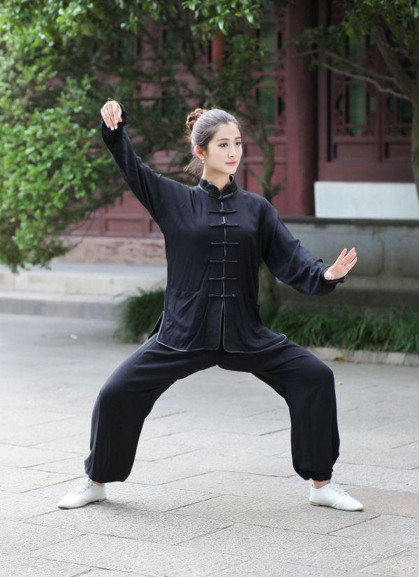 2017 100 Cotton Women Sport Clothing Kung Fu Uniforms