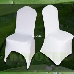 Chair Covers Wedding Buy Egg Shell 100 White Spandex Cover For Weddings Party Decorations Banquet Hotel Seat Kitchen Chairs Folding Rentals
