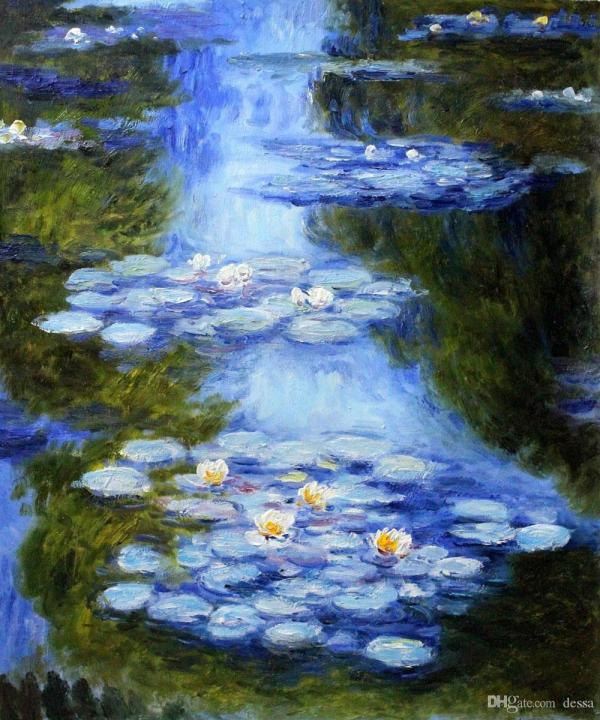 Claude Monet Paintings Water Lily