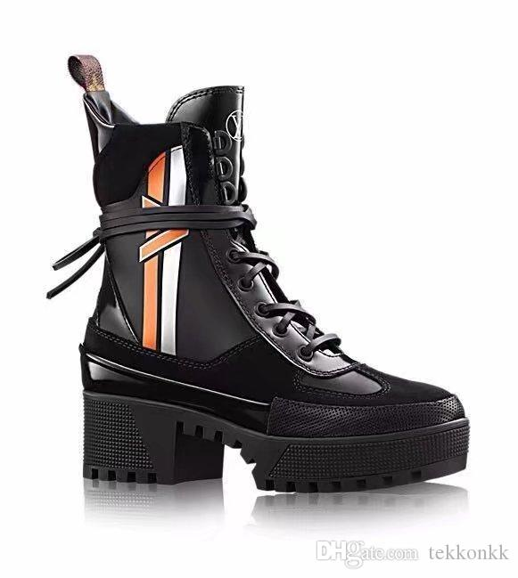 Black Heel Thick Platform
