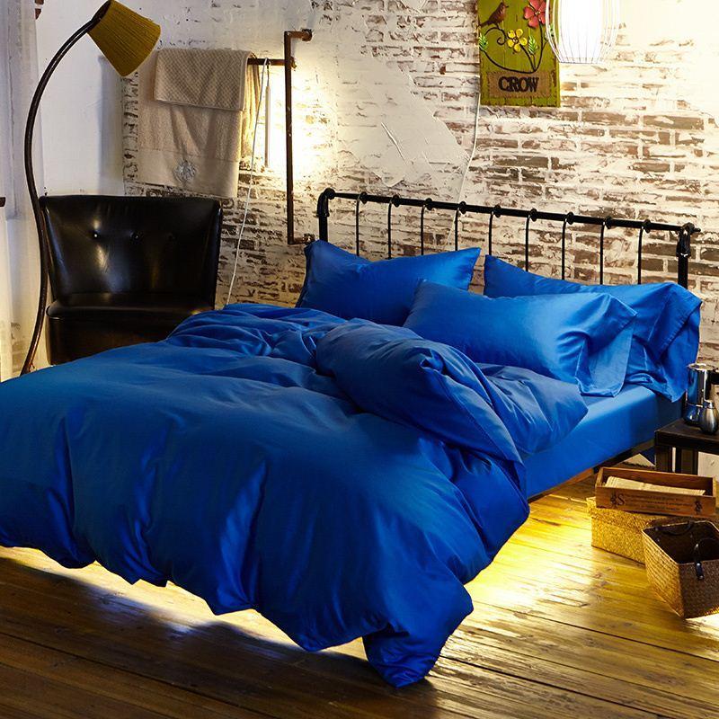 royal blue duvet egyptian
