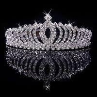 2016 Big Diamond Crown Necklaces Earrings Suit Combs ...