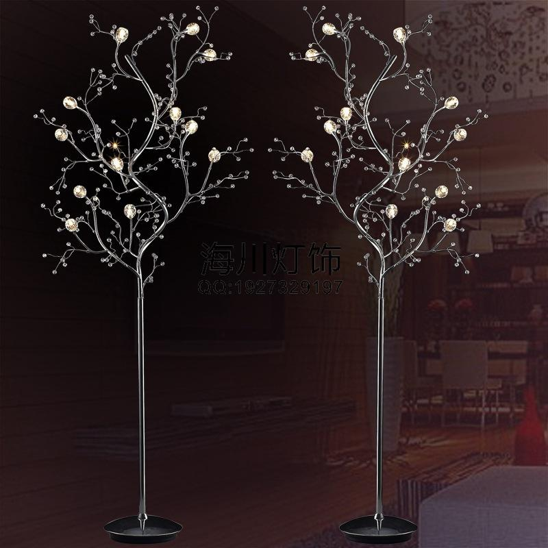 living room standing light sets san antonio branch crystal floor lamp bedroom bedside modern aesthetic customization upscale hotel project uk 2019 from zhoudan5245