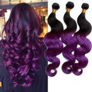 cheap purple ombre brazilian body