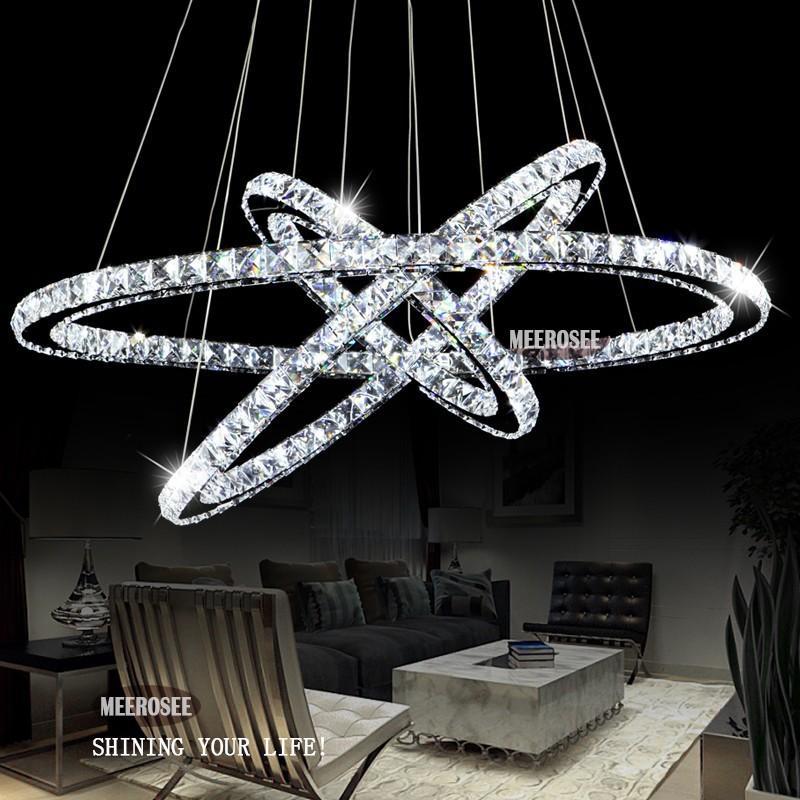 Grohandel Heie Verkaufen3 Diamant Ring Kristalllicht Befestigung Led Hngende Helle Aufhebung