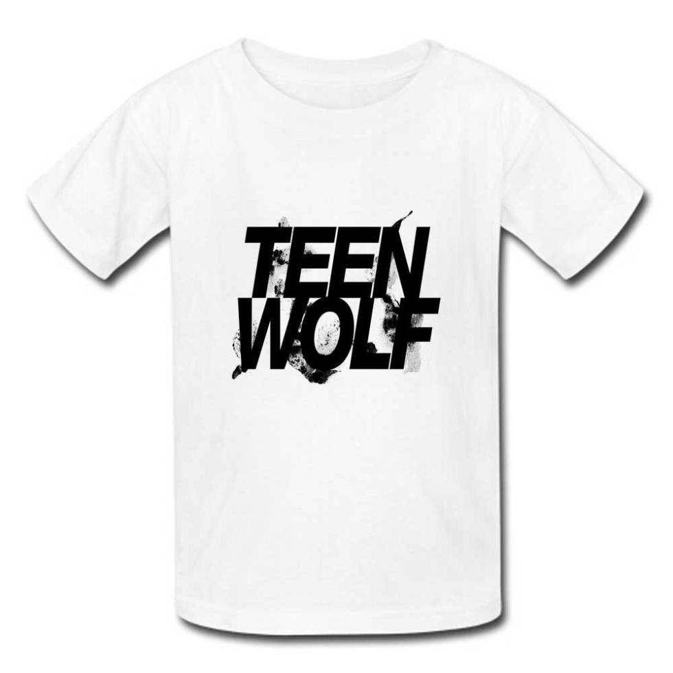 Good Quality Mens T Shirts Teen Wolf Quotes Logo Cotton ...