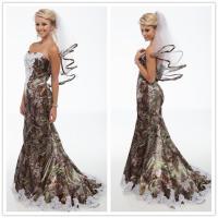 2015 Free Veil White Camo Wedding Dresses Mermaid 2015 ...