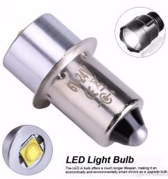 led upgrade bulb 3w 18v p13 5s pr2 base led replacement bulbs for torch lights flashlight work light c d cells t10 led bulb led flood light bulbs from  [ 1080 x 1080 Pixel ]