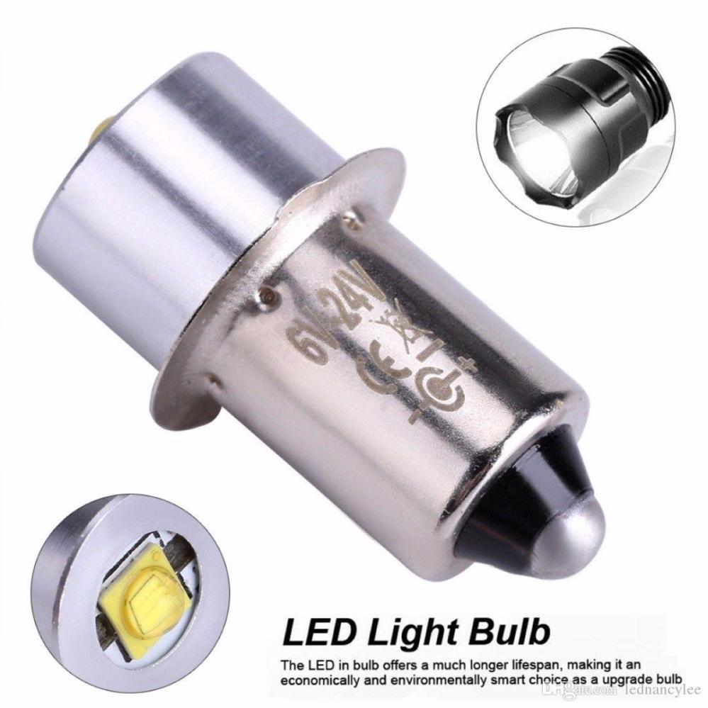 medium resolution of led upgrade bulb 3w 18v p13 5s pr2 base led replacement bulbs for torch lights flashlight work light c d cells t10 led bulb led flood light bulbs from