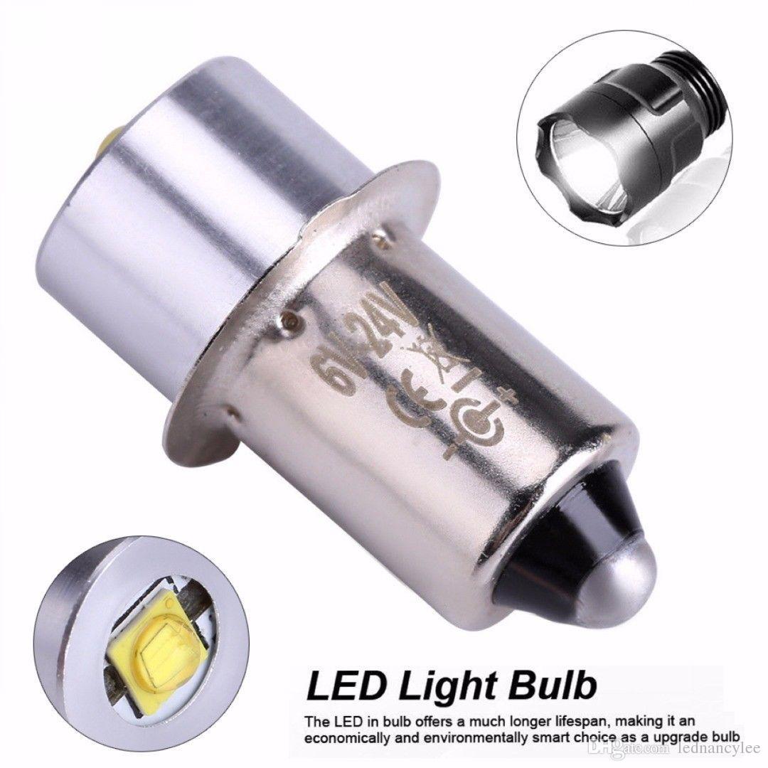 hight resolution of led upgrade bulb 3w 18v p13 5s pr2 base led replacement bulbs for torch lights flashlight work light c d cells t10 led bulb led flood light bulbs from