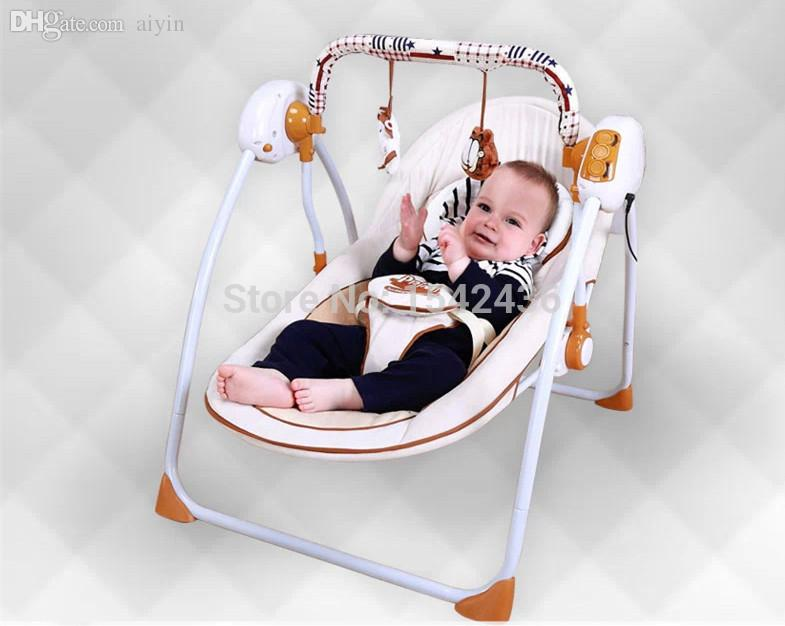 maternity rocking chair swivel job meaning 2018 wholesale deluxe trendy new electric baby bed cradle crib swing ...