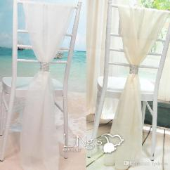 White Chair Sashes Hanging Bed 2017 New Arrival Wedding Top Quality 54 180cm Cheap Sash Ties Discount Embroidered Pageant