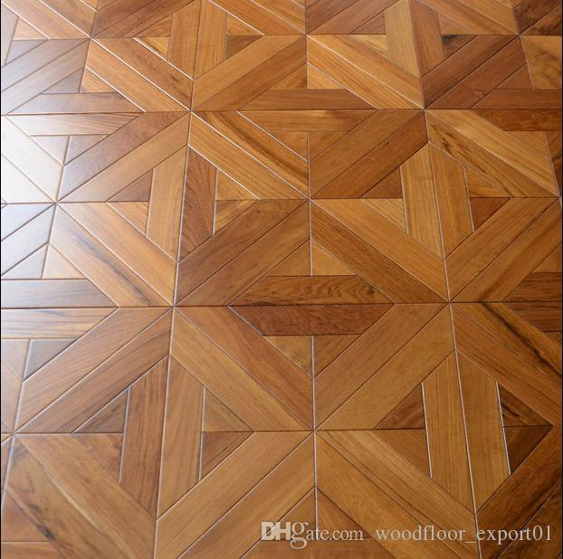 2019 Teak Laminate Wood Flooring Parquet Flooring Art