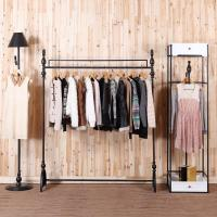 2018 C Iron Clothing Rack Clothing Store Display Racks For ...