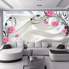Living Room On Sale White Sofa Decorating Ideas Hot Can Be Customized Large Mural 3d Wallpaper Bedroom Modern Fashion Rose Red Flowers Roses Milky Tv Background Wall Paper