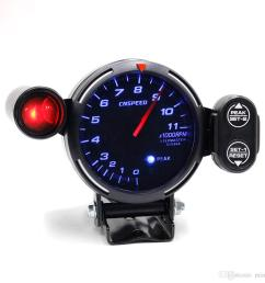 2019 cnspeed 80mm rpm tachometer racing meter auto gauge with light red car speedometer autometer from mines 25 13 dhgate com [ 1000 x 1000 Pixel ]