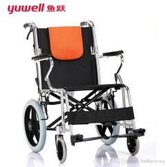 Portable Wheel Chair Toddler Potty Chairs Yuwell Handicapped Wheelchairs For Elderly H056c Folding The Disabled Light Aluminium Disable Wheelchair Ce Fda Rollator Walker