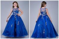 Royal Blue Dresses For Kids