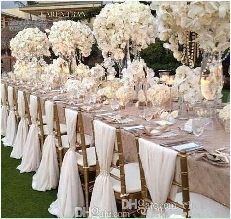 cheap chair covers near me fitted for 2019 simple sashes chiffon wedding cover romantic bridal party banquet back favors supplies fast shipping from