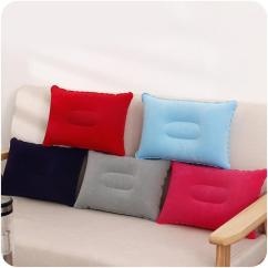 Large Square Sofa Cushions Feminine Leather Portable Outdoors Pillow Sleeping Air Thickening Cushion Inflatable For Travel 34 5 24cm Cotton Pillows Throws And From