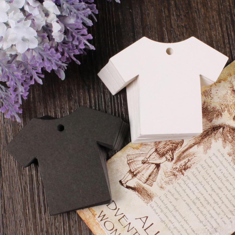 2.75*2.16inch Blank Kraft Paper T Shirt Luggage Price Hang ...