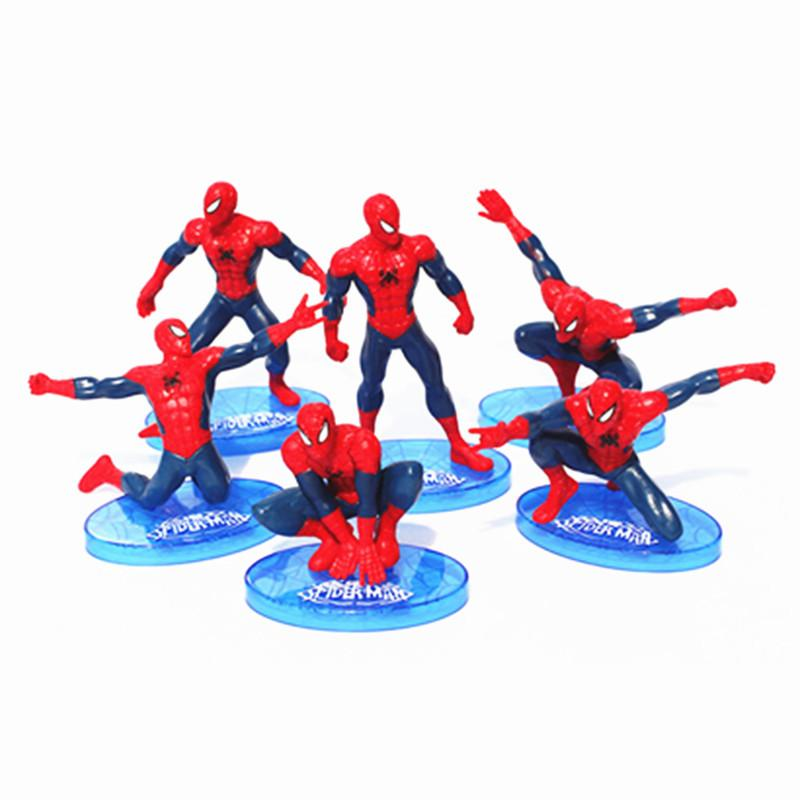 2019 Superheroes Spider Man Pvc Action Figure Toys Christmas Gift