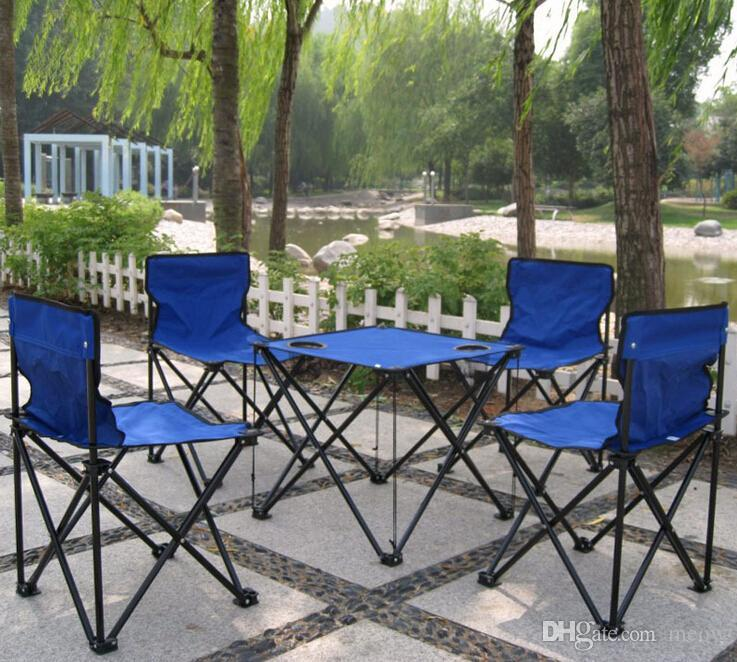 foldable table and chairs garden chair cover hire setup outdoor folding set 4 1 desk with cheap babies sitting best air wholesale