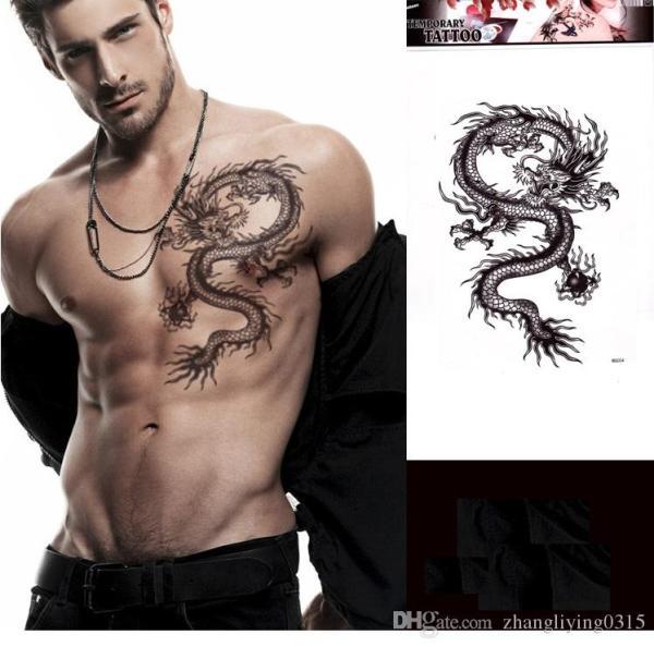 20 Temporary Tattoos Men Dragons Ideas And Designs