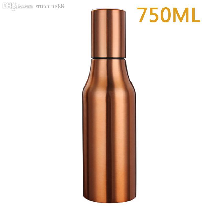 oil dispenser kitchen aid icemaker wholesale 750ml copper olive bottle stainless steel cruet gm2165 panel locknut cheap