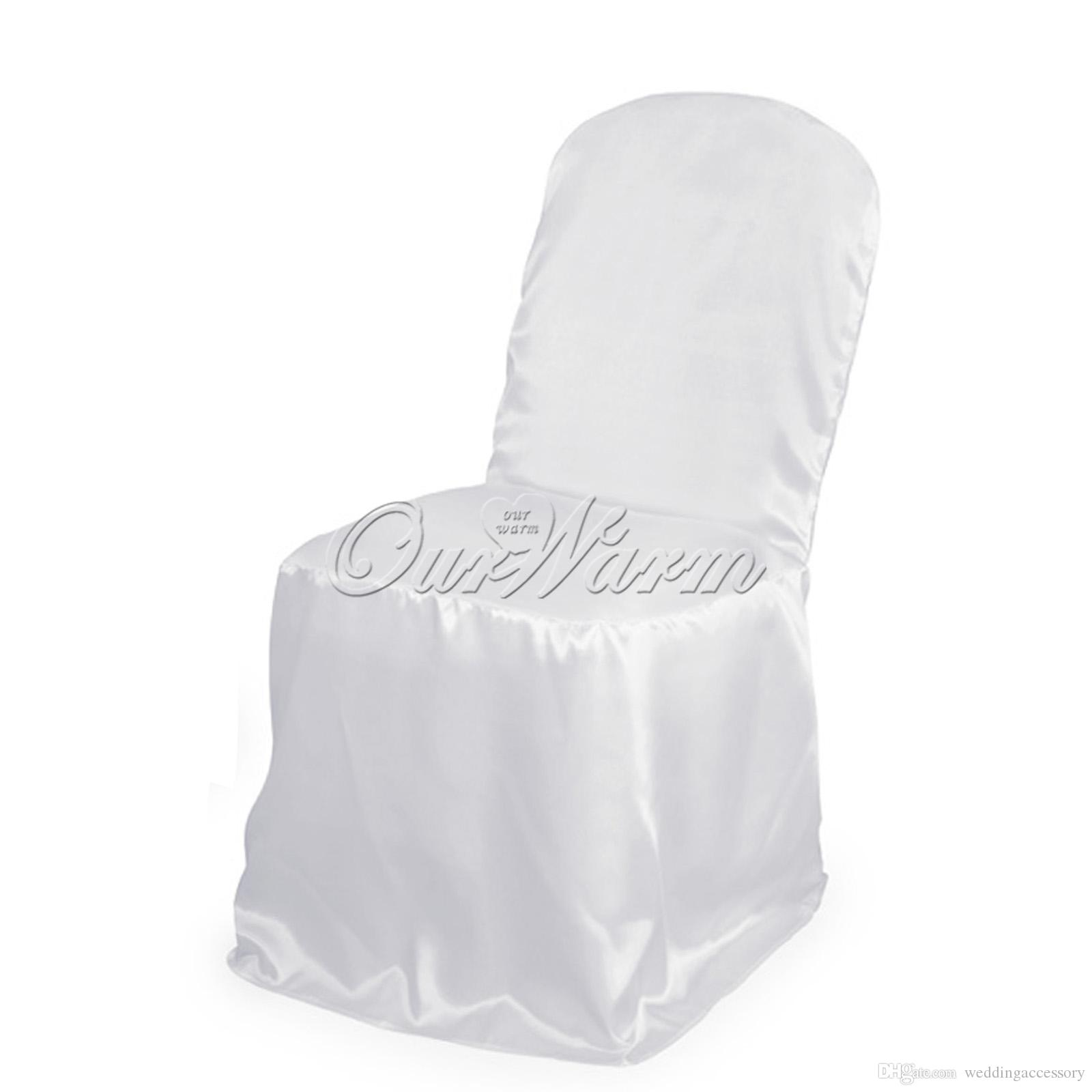 used banquet chair covers wholesale office exercise ball free by dhl ems satin universal white for