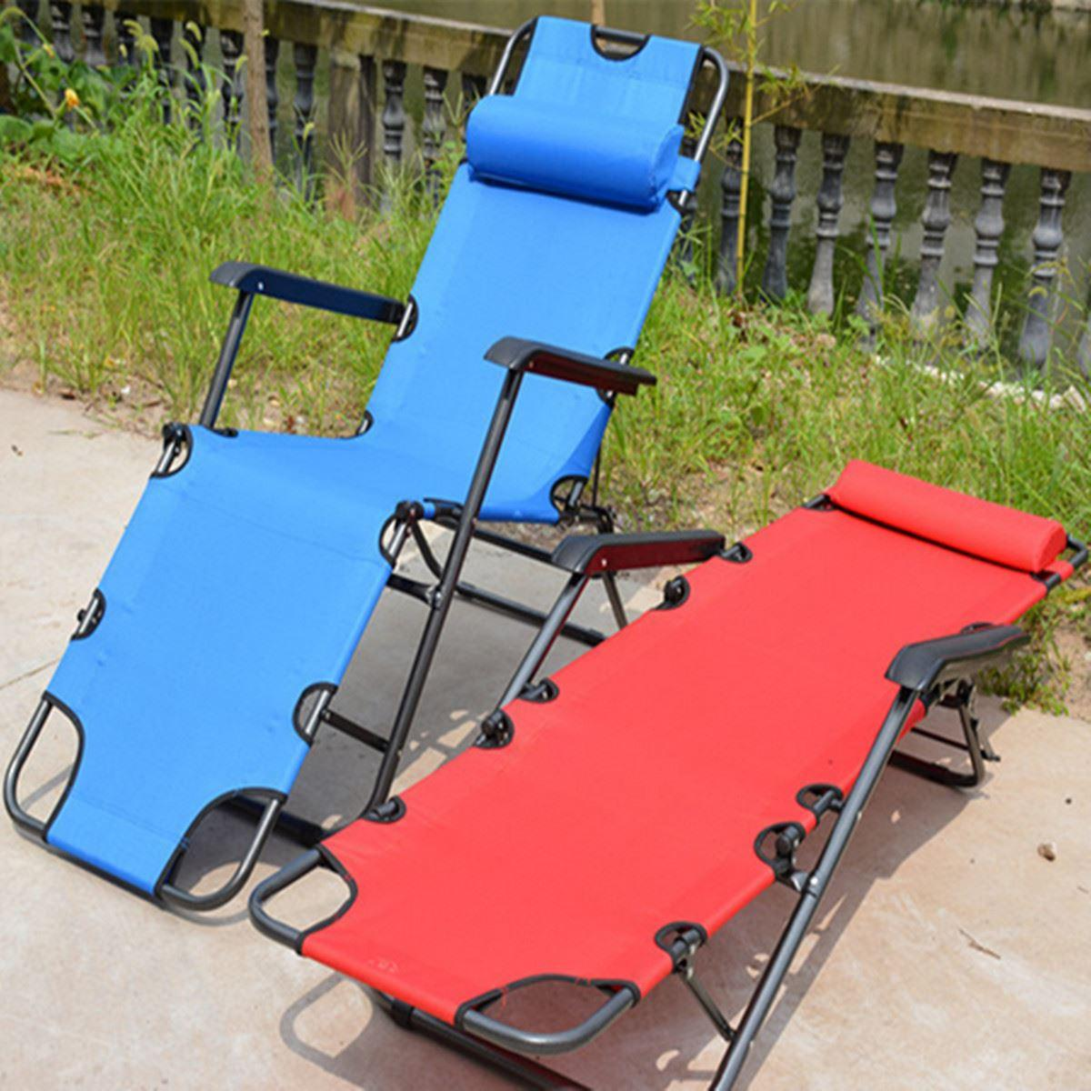 portable reclining chair barber parts brisbane 2019 folding outdoor deck camping sun lounger beach bed office napping chairs easy carry 178 61 30cm from lyh1125520 205 83 dhgate com