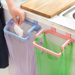 Kitchen Towel Hanger Sinks And Faucets 2019 Wholesale Plastic Cabinet Organizer Holders Trash Bag Holder Garbage Storage Shelf Rack From Hobarte